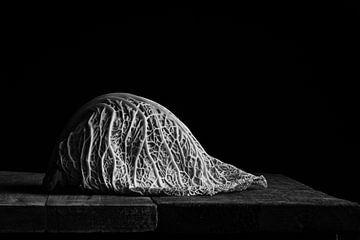 Wirsing, schwarz-weiß von Mariska Vereijken