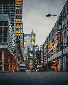 Wilhelminakade - Rotterdam van Bram Kool