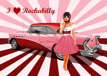 Ik houd van Rockabilly van Monika Jüngling