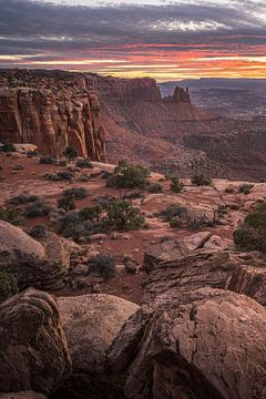 Canyon land. van Remco van Adrichem