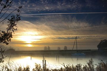 Sonnenaufgang bei Elektra von Henk Cruiming