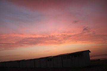 Zonsondergang Knokke-Heist van