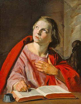 Der heilige Johannes der Evangelist, Frans Hals