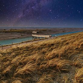 Echafaudages sous les étoiles sur Peter Heins