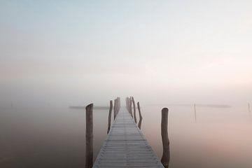 Steiger in de mist von RWNL Fotografie
