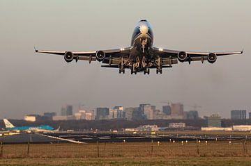 Queen of the Skies vertrekt vanaf Amsterdam Airport Schiphol van Robin Smeets