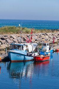 Alte Fischkutter im Hafen, Kühlungsborn, Mecklenburg-Vorpommern, Deutschland, Europa von Torsten Krüger