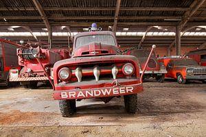 Brandweer - FORD F Feuerwehr-Oldtimer von Jacqueline Ansorg