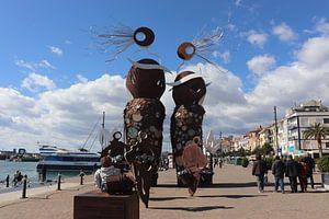 Monument Cambrils Spanje Costa Dorado van Elly Meijer - Willemsen