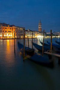Blick auf den Campanile in Venedig