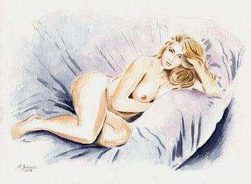 Kurvenreiche Schönheit - erotische Kunst von Marita Zacharias