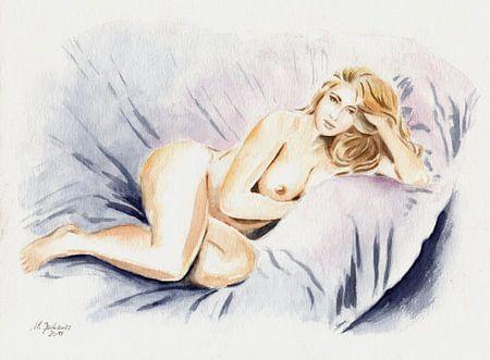 Kurvenreiche Schönheit - erotische Kunst