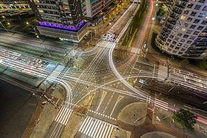 Het verkeersplein Vasteland in Rotterdam