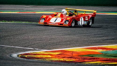 Ferrari 312PB  van