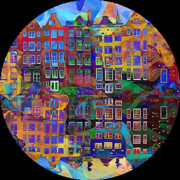 Amsterdam Abstract van Jacky Gerritsen