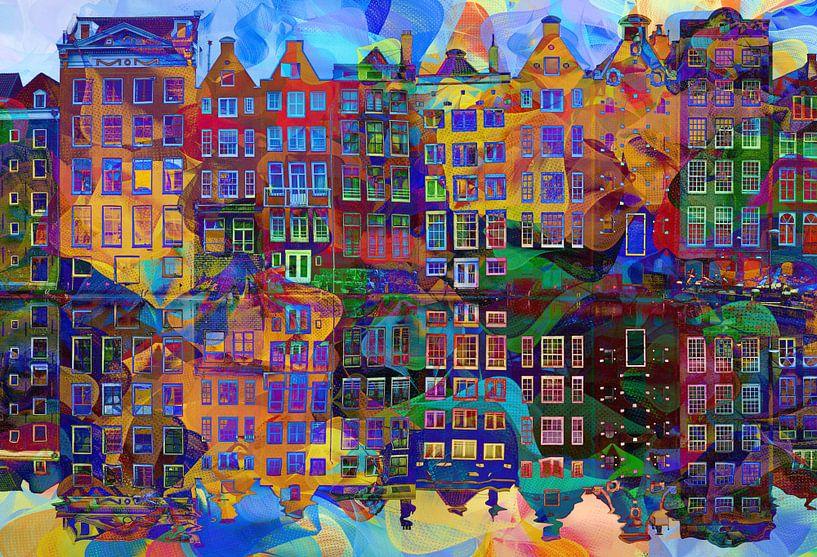 Amsterdam Abstract van Jacky
