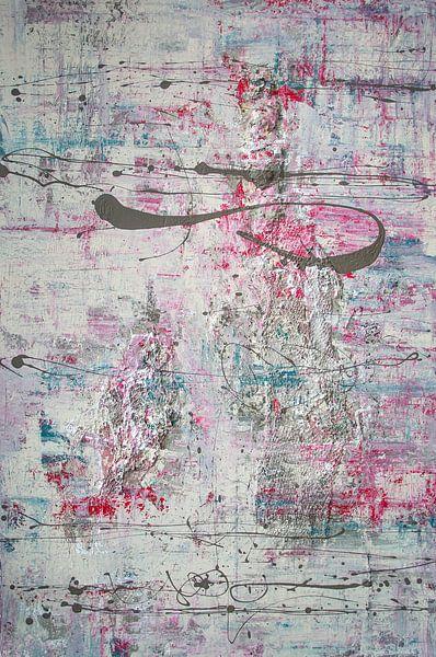 Pastel Poetry 01 van Willie Roosenbrand Art