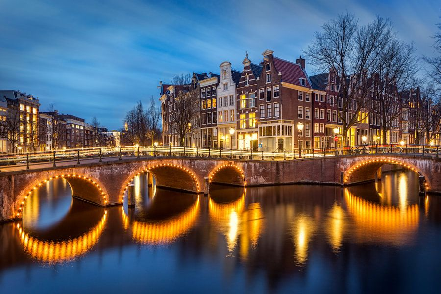 Keizersgracht Amsterdam van Peter Bolman