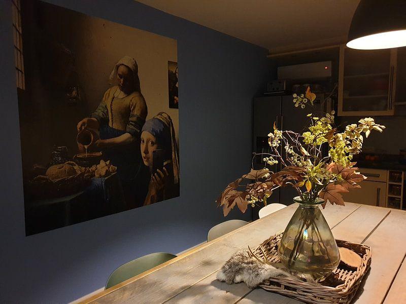 Photo de nos clients: La perle rare: La Jeune Fille rend visite à son amie sur Jerome Coppo