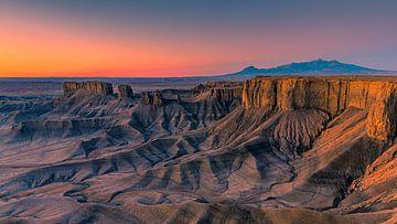 Panorama der Badlands, Utah