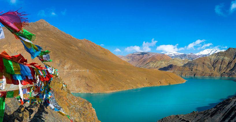In de bergen van Tibet van Rietje Bulthuis