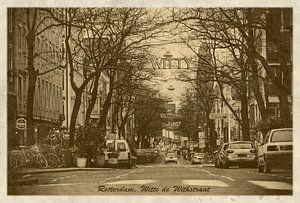 Oude ansichten: Rotterdam Witte de Withstraat van