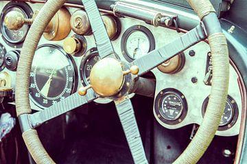 Vintage Bentley dashboard van