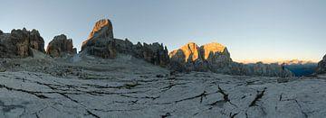 Het Brenta zonsopkomstpanorama van Sean Vos