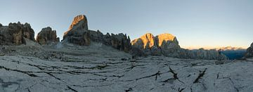 Het Brenta zonsopkomstpanorama van