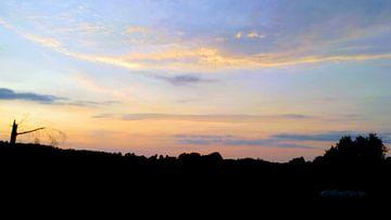 zonsondergang van Meta van Saus