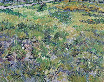 Vollständiger Titel: Langes Gras mit SchmetterlingenKünstler: Vincent van GoghDate gemacht: 1890Sour