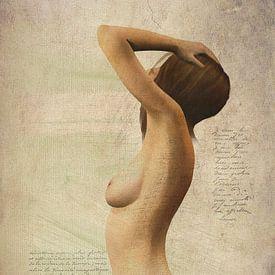 Erotisch naakt - naakt met een gevoel van mysterie van Jan Keteleer