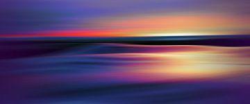 Kleuren van de zonsondergang van Angel Estevez