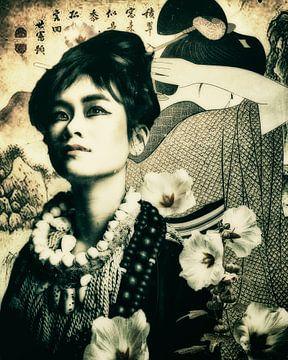 Geisha 01 van Mark Isarin | Fotografie