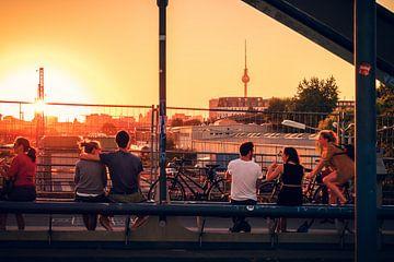Berlin – Friedrichshain / Modersohnbrücke sur Alexander Voss