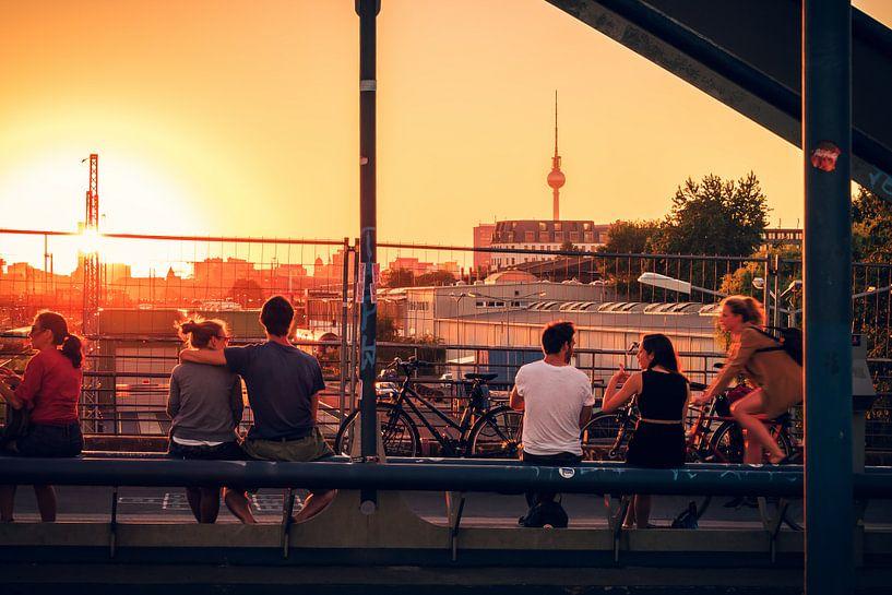 Berlin – Friedrichshain / Modersohnbruecke van Alexander Voss