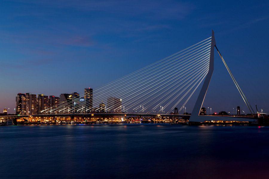 Erasmusbrug Rotterdam van Irene van der Sloot