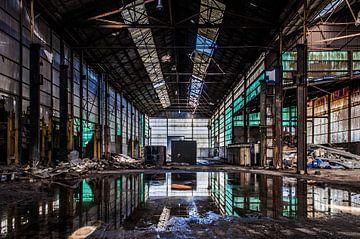 Aluminiumfabriek von Anjolie Deguelle