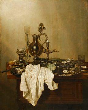 Stilleben mit silberner Kanne, Gerrit Willemsz. Heda