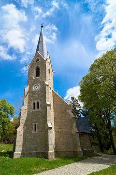 Bergkirche im Ort Schierke im Harz von Heiko Kueverling
