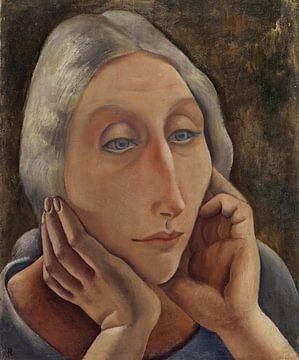 Porträt von Assa, ANITA RÉE, 1931 von Atelier Liesjes