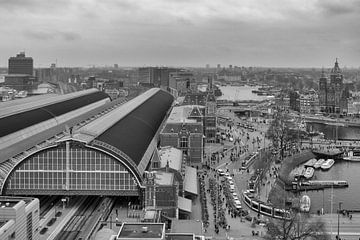 Hauptbahnhof Amsterdam von Peter Bartelings Photography