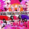 VW-busjes op roze flowerpower achtergrond van Jole Art (Annejole Jacobs - de Jongh) thumbnail