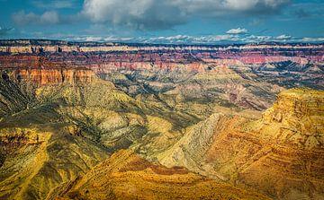 Prachtig uitzicht over de Grand Canyon vanaf de south rim van Rietje Bulthuis