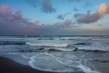 Caribische Zee na de storm, Costa Rica van Nick Hartemink