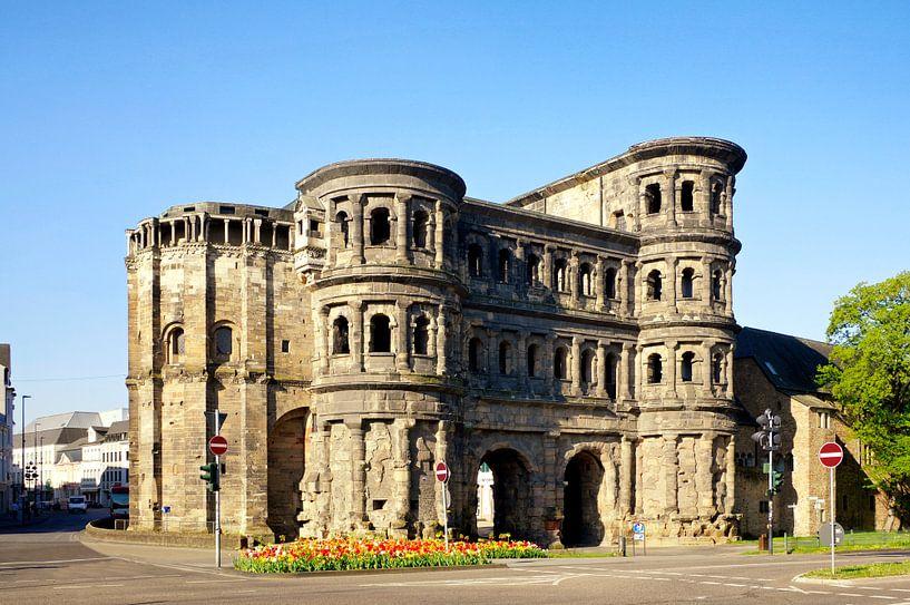 De Porta Nirgra in Trier van Berthold Werner