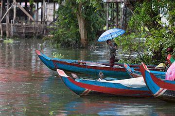 Regen in Cambodja van Yvs Doh