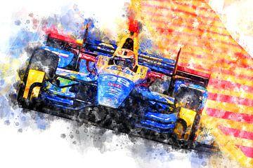 Alexander Rossi Indianapolis Winner 2017 von Theodor Decker