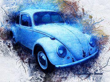 Volkswagen van Printed Artings