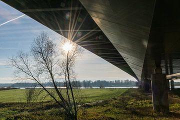 Panorama onder de Tacitusbrug bij Herveld van Patrick Verhoef